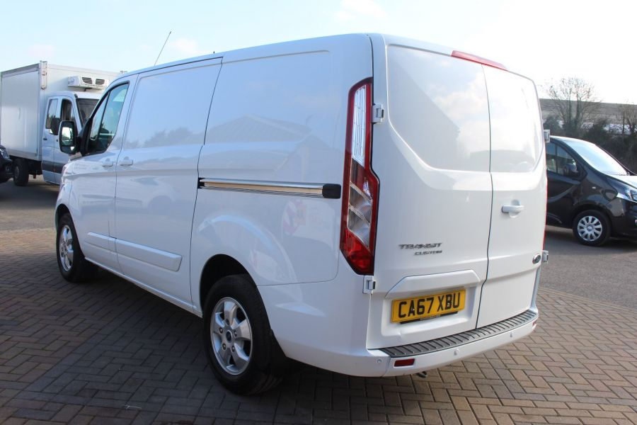 FORD TRANSIT CUSTOM 290 TDCI 170 L1 H1 LIMITED SWB LOW ROOF - 8843 - 7
