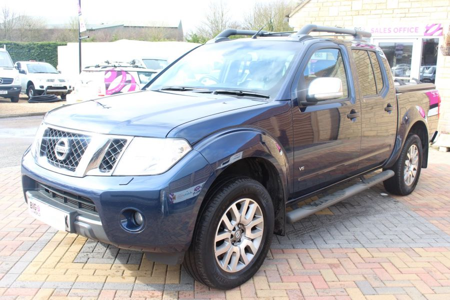NISSAN NAVARA OUTLAW DCI 231 4X4 DOUBLE CAB WITH MOUNTAIN TOP - 7465 - 8