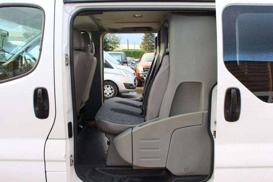 RENAULT TRAFIC LL29 DCI 115 L2 H1 DOUBLE CAB LWB CREW VAN - 6787 - 18
