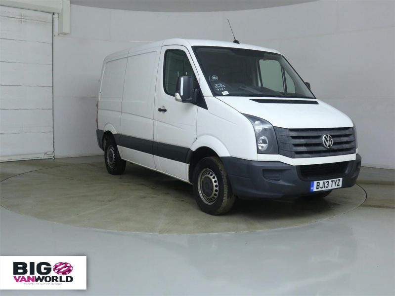VOLKSWAGEN CRAFTER CR30 TDI 109 SWB LOW ROOF - 8938 - 2