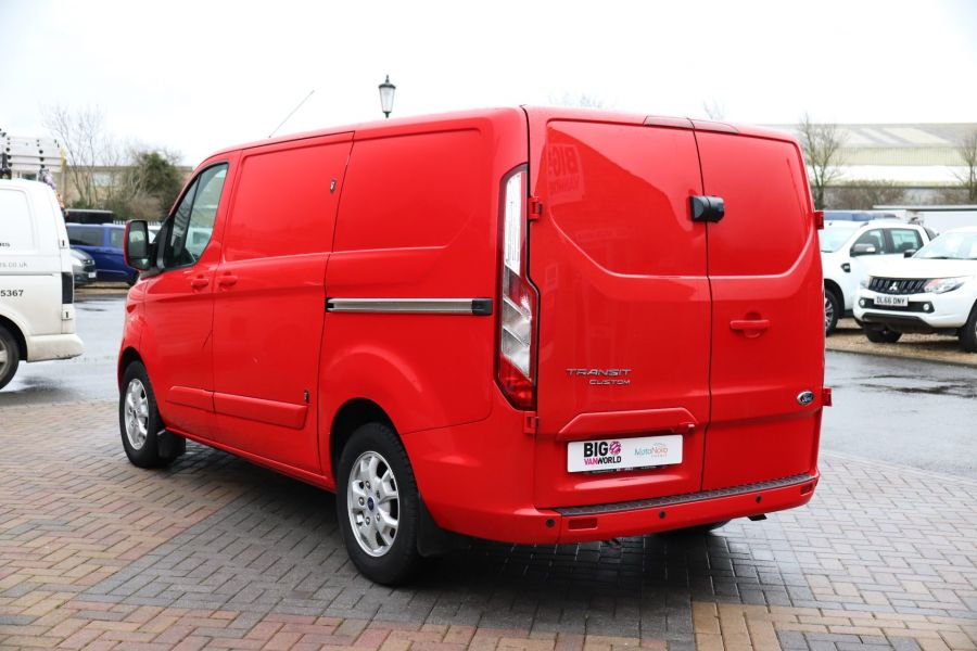 FORD TRANSIT CUSTOM 290 TDCI 125 L1H1 LIMITED SWB LOW ROOF FWD - 11904 - 10