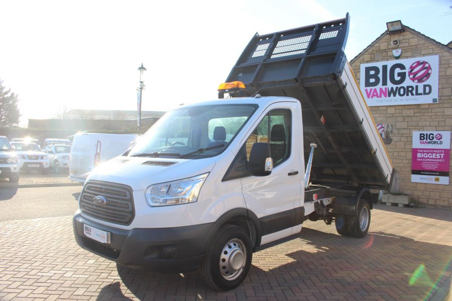 FORD TRANSIT 350 TDCI 125 SINGLE CAB 'ONE STOP' ALLOY TIPPER DRW - 7213 - 7