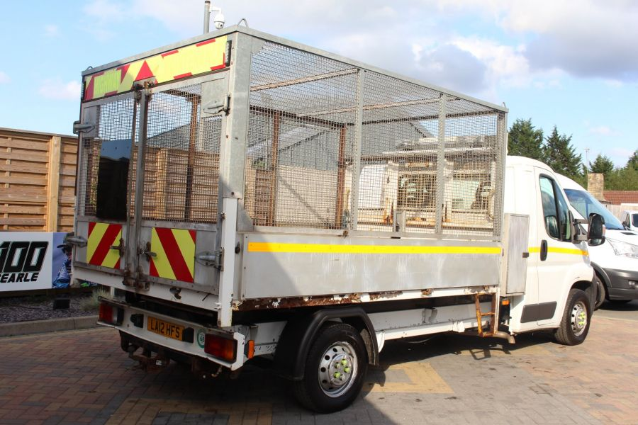 CITROEN RELAY 35 HDI 130 L3 LWB ALLOY TIPPER WITH CAGED - 8122 - 14