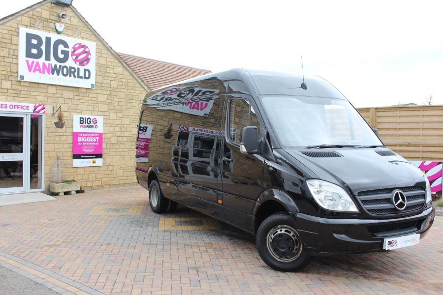 MERCEDES SPRINTER 511 CDI LWB HIGH ROOF TWIN REAR WHEEL 6 SEAT CREW VAN - 3246 - 2