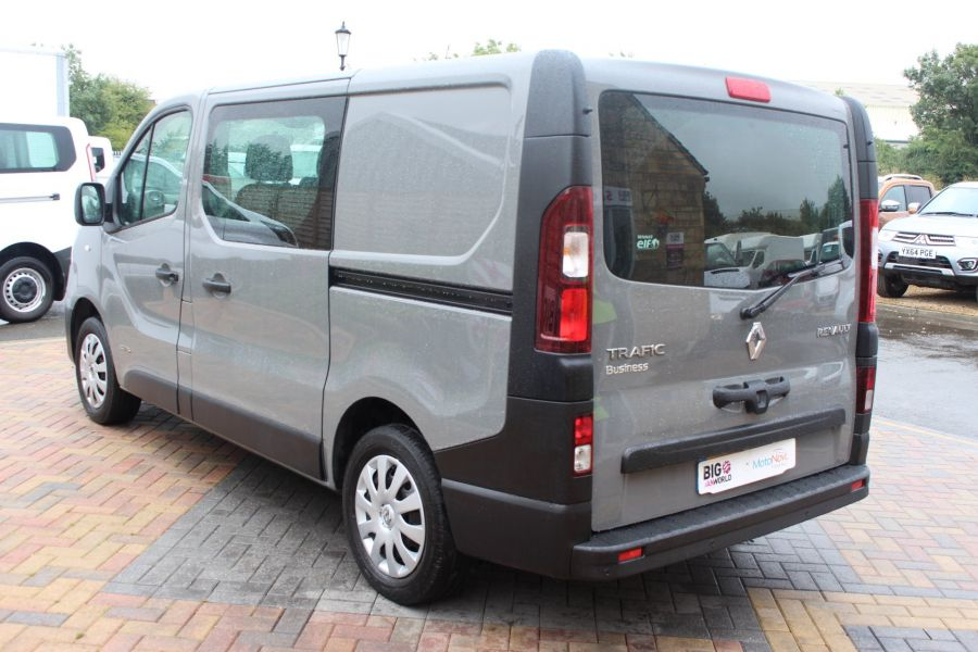 RENAULT TRAFIC SL27 DCI 115 BUSINESS DOUBLE CAB 6 SEAT CREW VAN SWB LOW ROOF - 8178 - 7