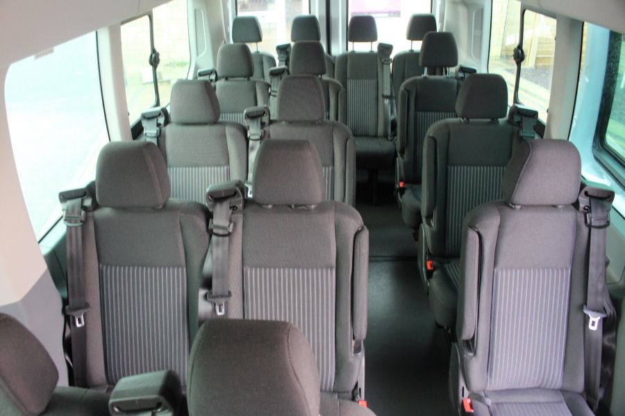 FORD TRANSIT 460 TDCI 125 TREND L4 H3 HIGH ROOF 17 SEAT BUS - 8551 - 18