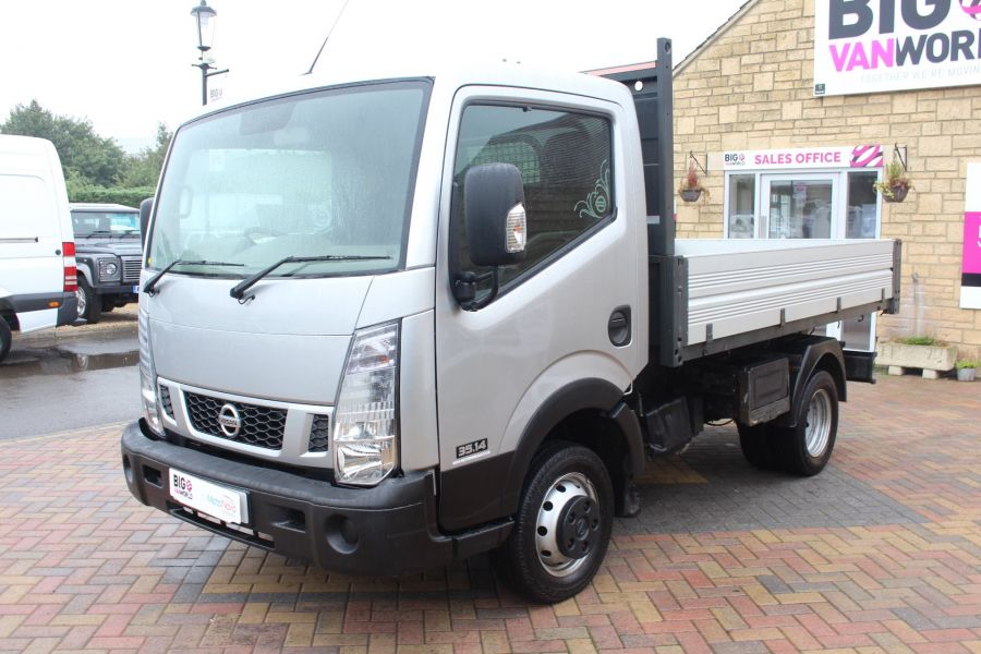 NISSAN NT400 CABSTAR DCI 35.14 SWB ALLOY TIPPER - 6520 - 16
