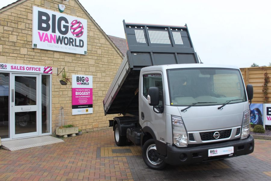 NISSAN NT400 CABSTAR DCI 35.14 SWB ALLOY TIPPER - 6520 - 1