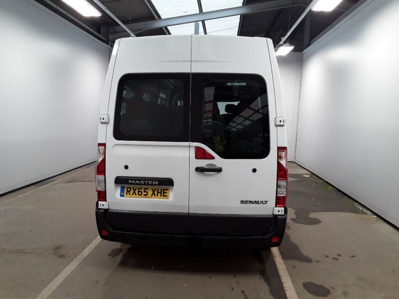 RENAULT MASTER LM39 DCI 150 BUSINESS LWB 17 SEAT BUS MEDIUM ROOF WITH OVERHEAD STORAGE - 11707 - 4