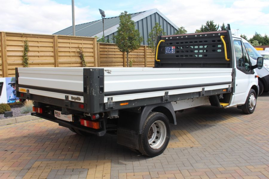 FORD TRANSIT 350 TDCI 155 LWB SINGLE CAB 'ONE STOP' 12FT 6IN ALLOY DROPSIDE RWD - 6220 - 5