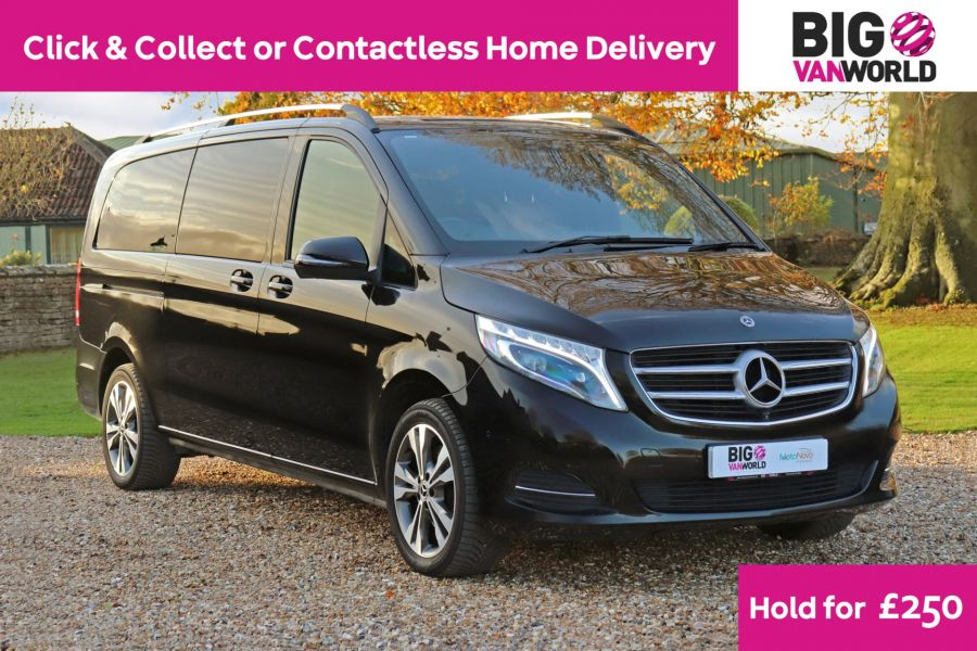 MERCEDES V-CLASS V250 CDI 190 BLUETEC SPORT EXTRA LONG 8 SEATS 7G-TRONIC PLUS - 11775 - 1