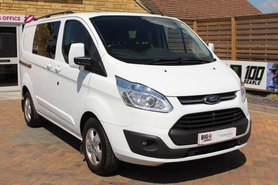 FORD TRANSIT CUSTOM 290 TDCI 125 L1 H1 LIMITED SWB DOUBLE CAB 6 SEAT CREW VAN FWD - 9206 - 3
