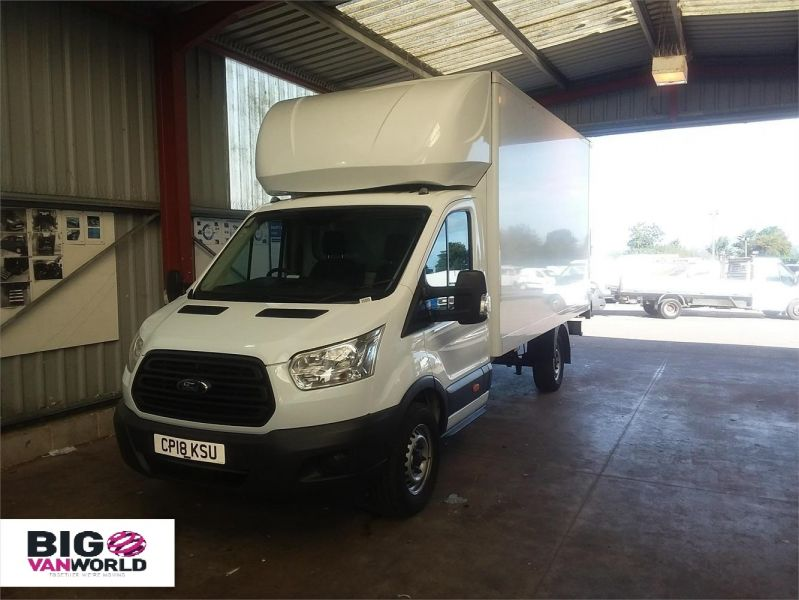 FORD TRANSIT 350 TDCI 130 L4 'ONE STOP' LUTON WITH TAIL LIFT - 10128 - 4