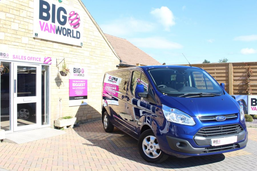 FORD TRANSIT CUSTOM 290 TDCI 155 L2 H1 LIMITED DOUBLE CAB LWB LOW ROOF - 6509 - 1
