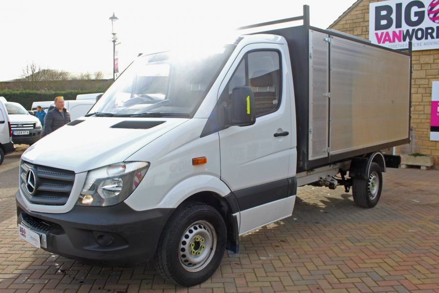 MERCEDES SPRINTER 313 CDI 129 MWB SINGLE CAB NEW BUILD ARBORIST ALLOY TIPPER - 10501 - 16