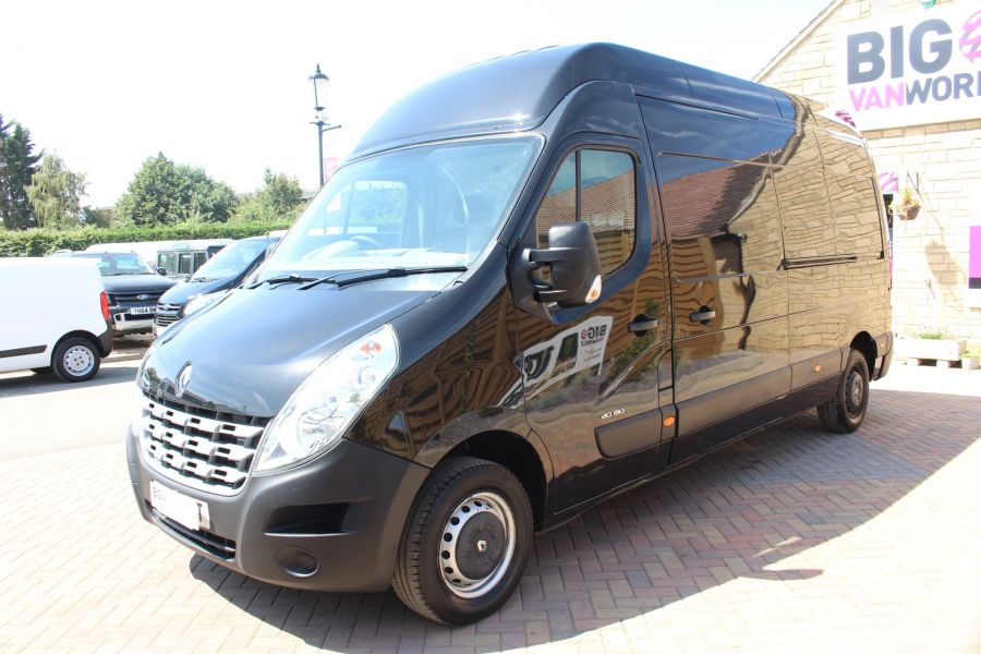 RENAULT MASTER LH35 DCI 150 LWB HIGH ROOF - 6401 - 7