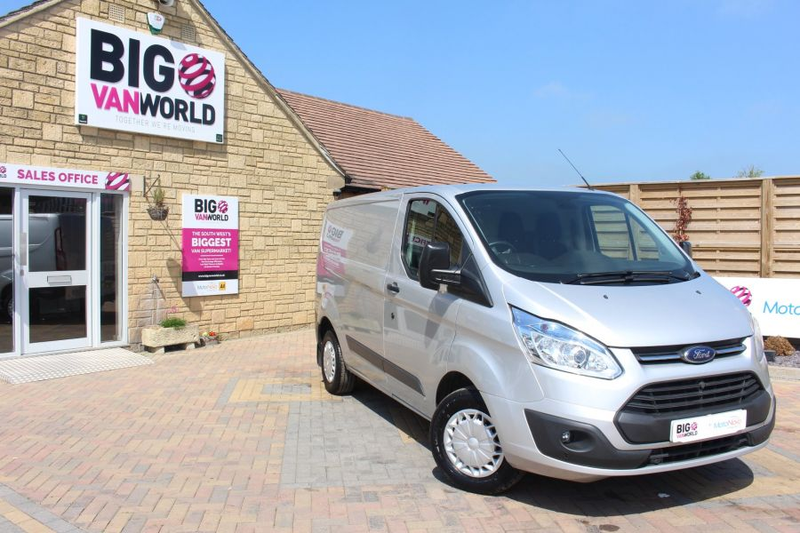 FORD TRANSIT CUSTOM 270 TDCI 100 TREND L1 H1 SWB LOW ROOF - 7163 - 2