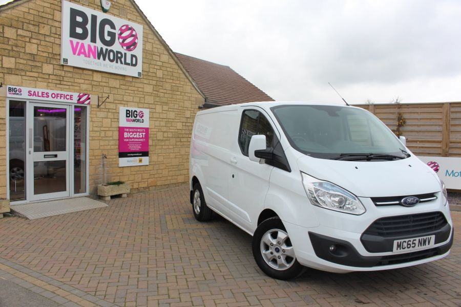 FORD TRANSIT CUSTOM 330 TDCI 125 L1 H1 LIMITED SWB LOW ROOF FWD - 9004 - 2