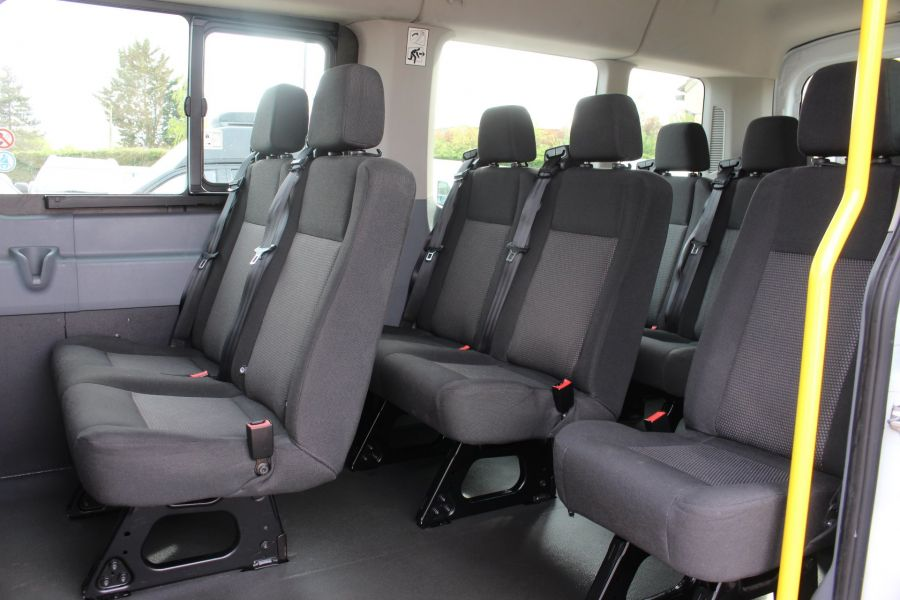 FORD TRANSIT 410 TDCI 125 L3 H2 15 SEAT BUS LWB MEDIUM ROOF - 6975 - 18