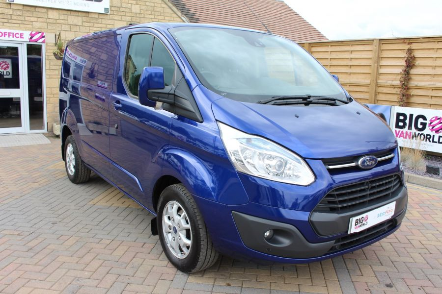 FORD TRANSIT CUSTOM 270 TDCI 155 LIMITED L1 H1 SWB LOW ROOF FWD - 6586 - 3