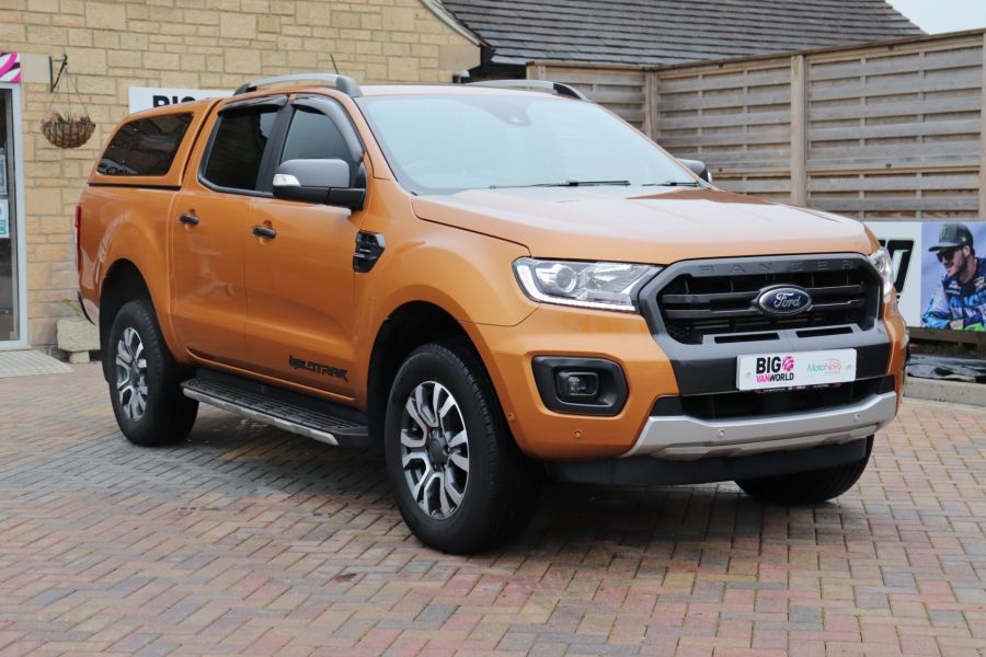 FORD RANGER WILDTRAK 2.0 ECOBLUE 213 4X4 DOUBLE CAB WITH TRUCKMAN TOP - 11613 - 1