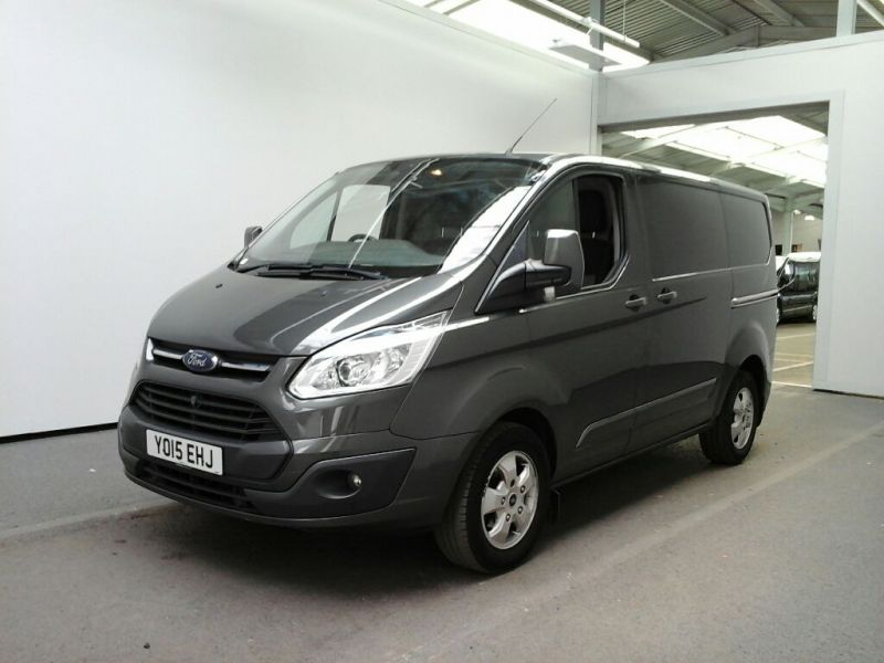 FORD TRANSIT CUSTOM 290 TDCI 125 L1 H1 LIMITED SWB LOW ROOF FWD - 8218 - 1