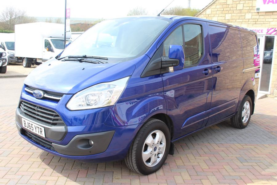 FORD TRANSIT CUSTOM 290 TDCI 125 L1 H1 LIMITED SWB LOW ROOF FWD - 9056 - 8