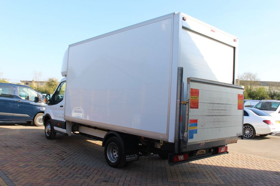 FORD TRANSIT 350 TDCI 125 DRW L4 LUTON WITH TAIL LIFT - 5940 - 5