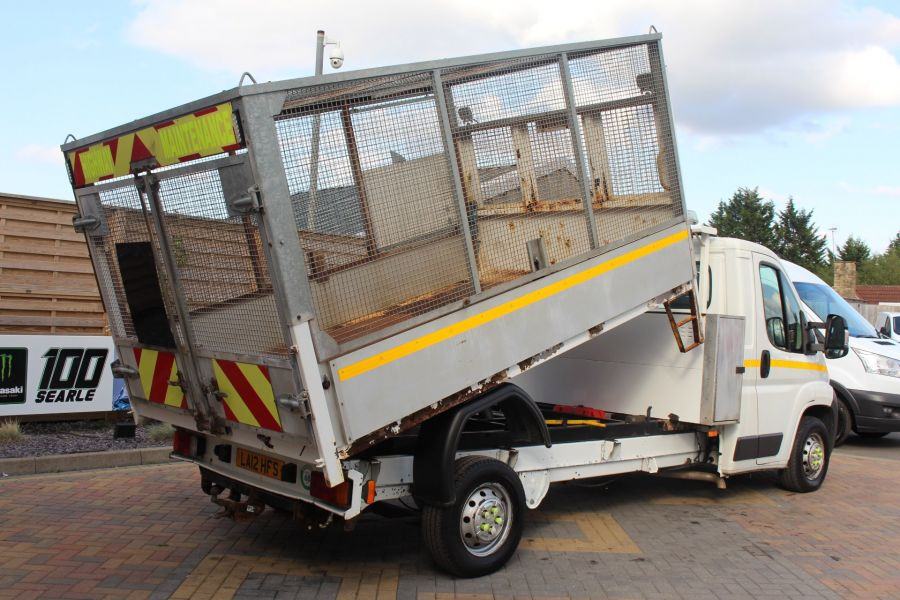 CITROEN RELAY 35 HDI 130 L3 LWB ALLOY TIPPER WITH CAGED - 8122 - 5