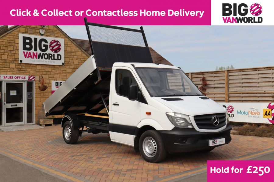 MERCEDES SPRINTER 313 CDI 129 MWB SINGLE CAB NEW BUILD ALLOY TIPPER - 10678 - 1
