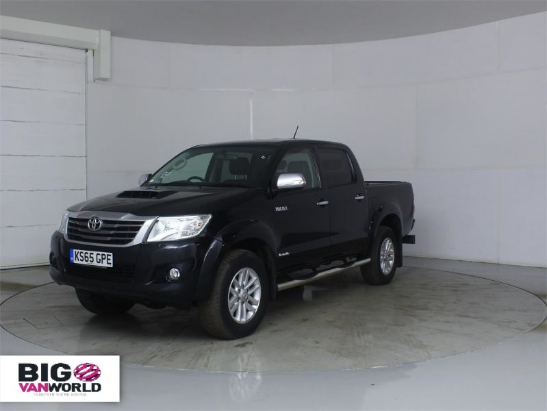 TOYOTA HI-LUX INVINCIBLE 4X4 D-4D 169 DOUBLE CAB WITH ROLL'N'LOCK TOP - 7308 - 5