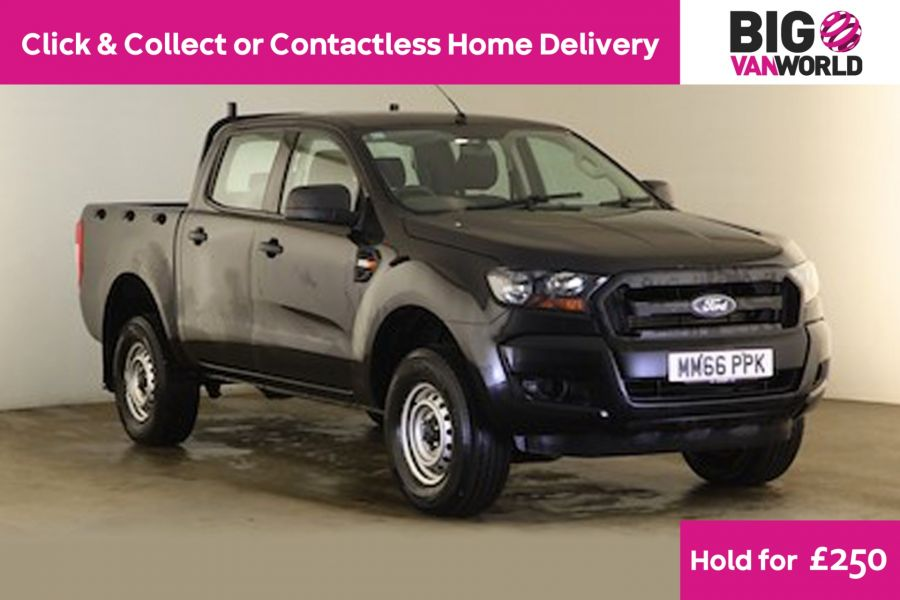 FORD RANGER TDCI 160 XL 4X4 DOUBLE CAB - 12277 - 1