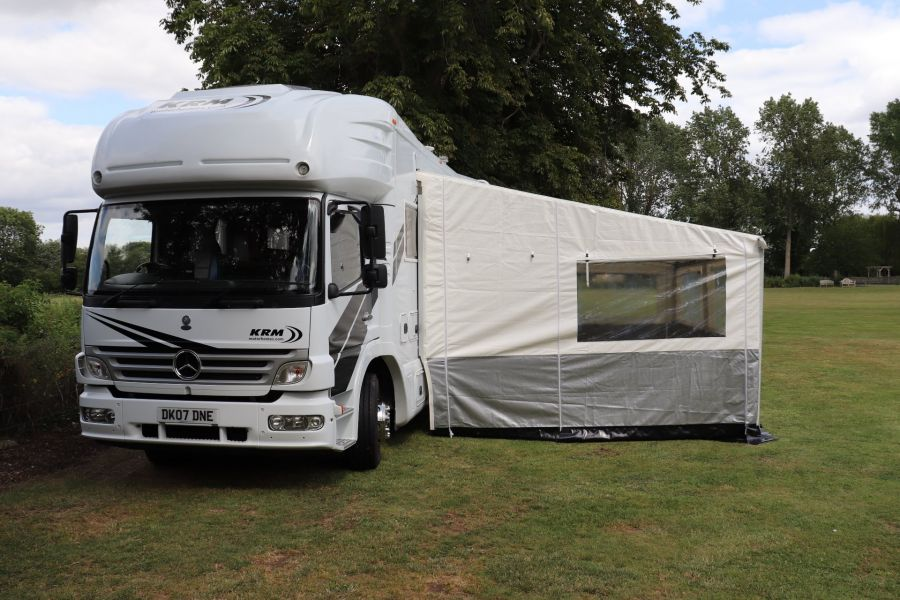 MERCEDES KRM MB1628 32FT 6 BERTH MOTORHOME / SPORTHOME  - 9783 - 78