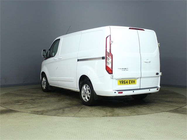 FORD TRANSIT CUSTOM 290 TDCI 155 L1 H1 LIMITED SWB LOW ROOF FWD - 7106 - 4