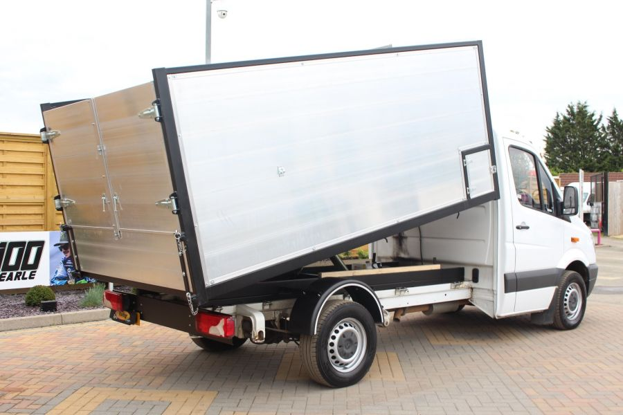 MERCEDES SPRINTER 313 CDI MWB NEW ALLOY ARBORIST TIPPER - 6031 - 5