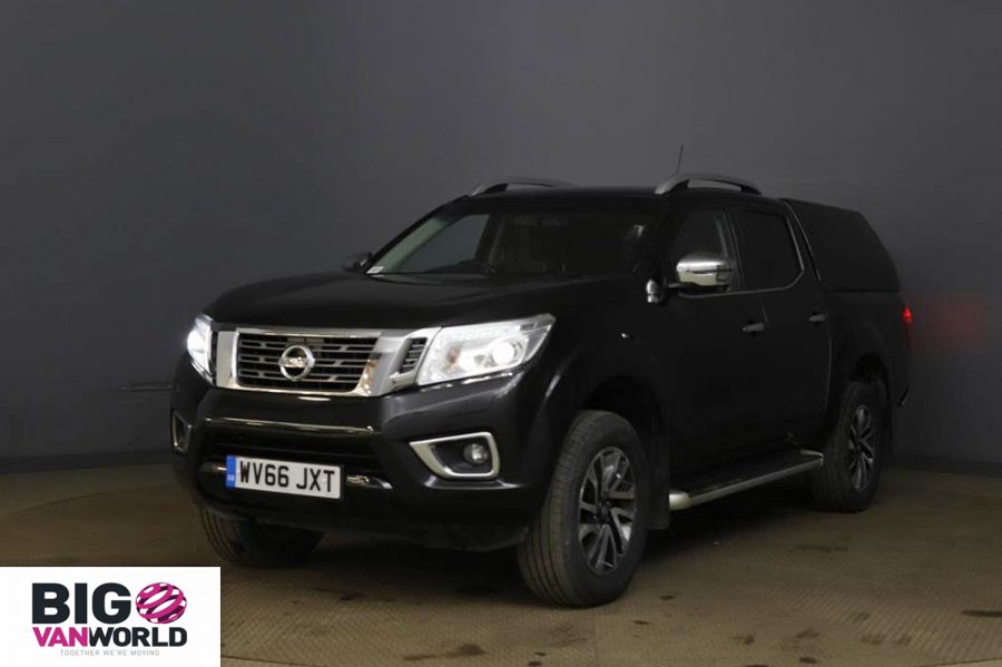 NISSAN NAVARA DCI 190 TEKNA 4X4 DOUBLE CAB WITH TRUCKMAN TOP - 11076 - 6