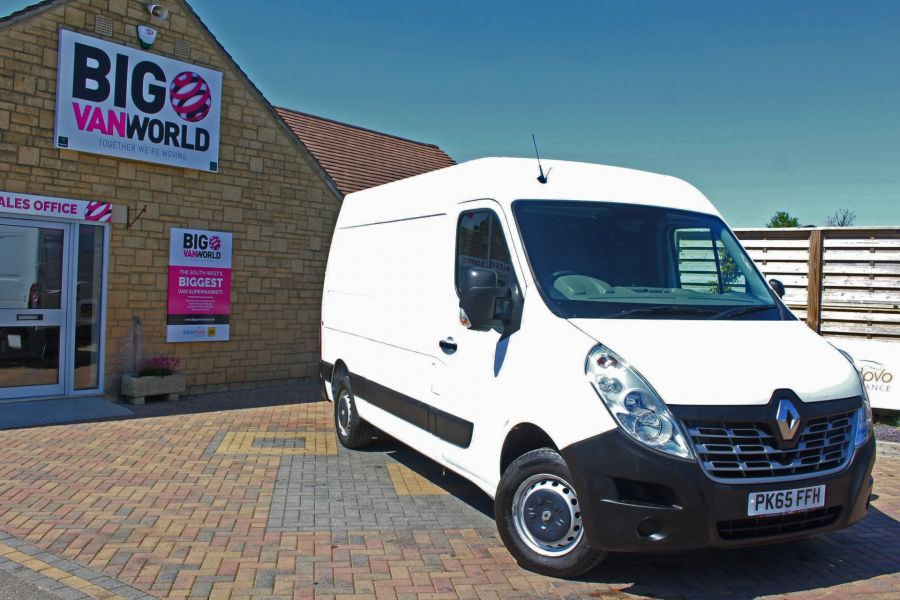 RENAULT MASTER MM35 DCI 110 BUSINESS ENERGY MWB MEDIUM ROOF FWD - 9086 - 1