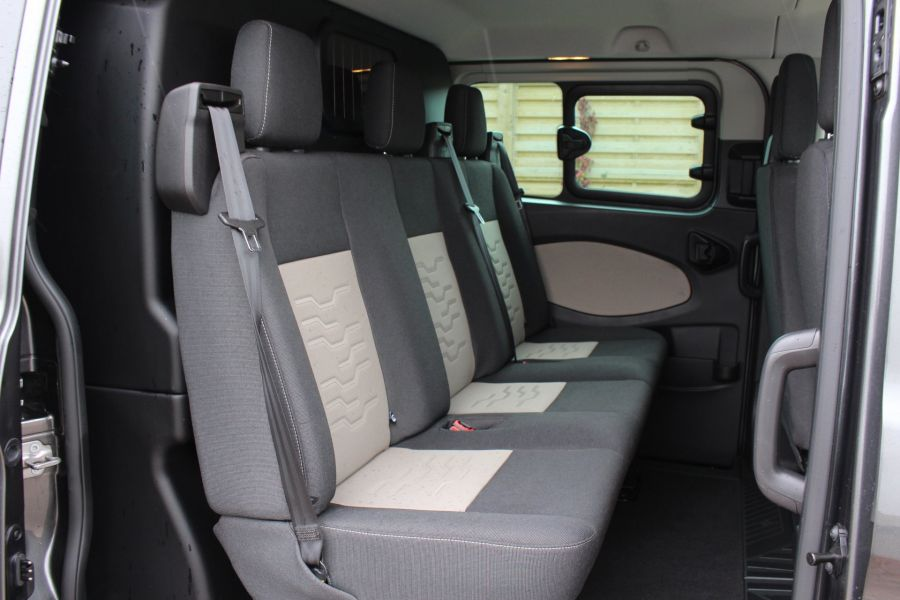 FORD TRANSIT CUSTOM 290 TDCI 125 L1 H1 LIMITED DOUBLE CAB 6 SEAT CREW VAN SWB LOW ROOF FWD - 7542 - 21