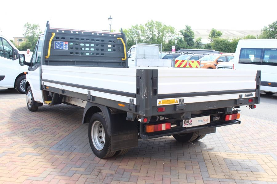FORD TRANSIT 350 TDCI 155 LWB SINGLE CAB 'ONE STOP' 12FT 6IN ALLOY DROPSIDE RWD - 6220 - 7