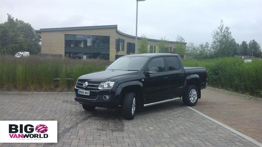 VOLKSWAGEN AMAROK DC BITDI 180 HIGHLINE 4MOTION DOUBLE CAB WITH TONNEAU COVER - 9718 - 1