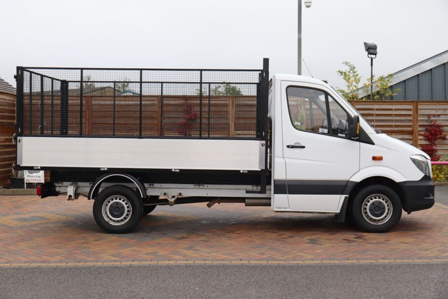 MERCEDES SPRINTER 313 CDI 129 MWB SINGLE CAB NEW BUILD ALLOY CAGED TIPPER - 9685 - 5