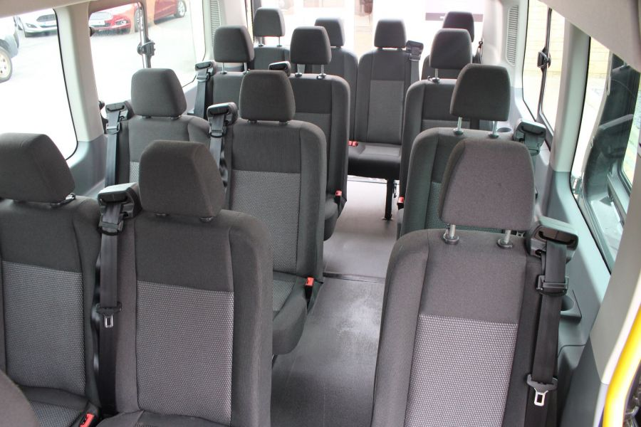 FORD TRANSIT 460 TDCI 155 L4 H3 17 SEAT BUS HIGH ROOF DRW RWD - 8132 - 21