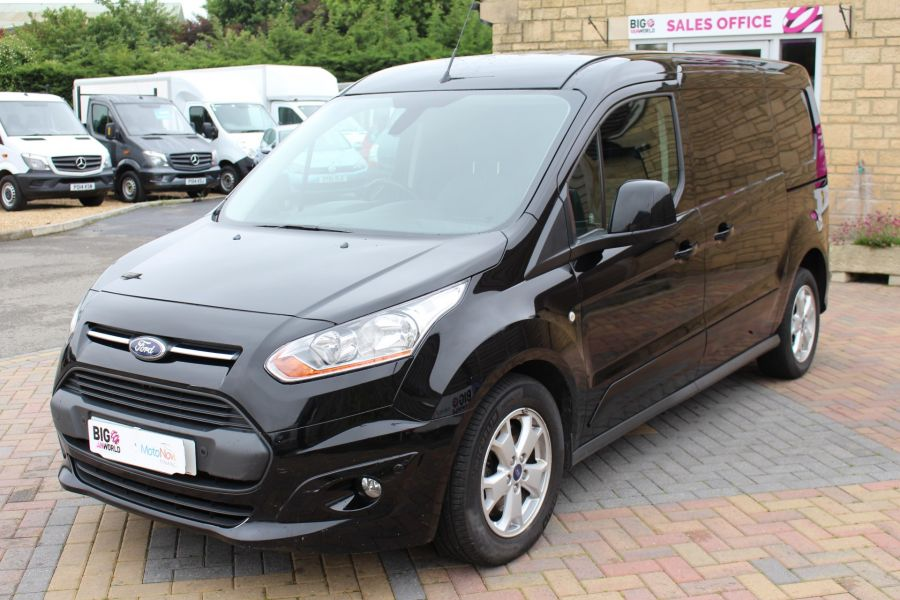 FORD TRANSIT CONNECT 240 TDCI 115 L2 H1 LIMITED LWB LOW ROOF - 9350 - 9