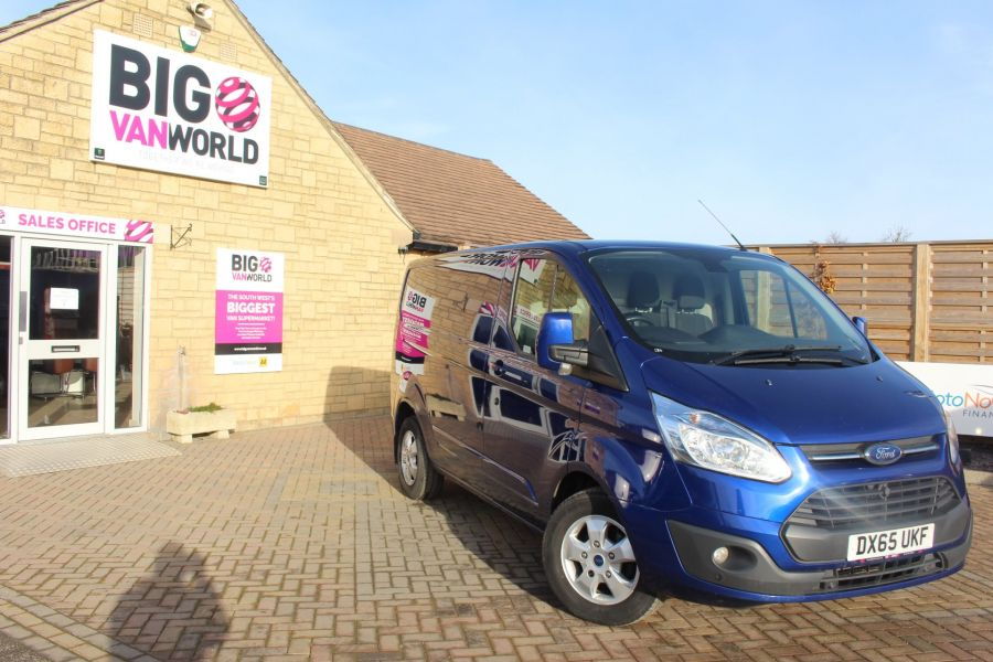 FORD TRANSIT CUSTOM 290 TDCI 155 L1 H1 LIMITED SWB LOW ROOF - 8952 - 2
