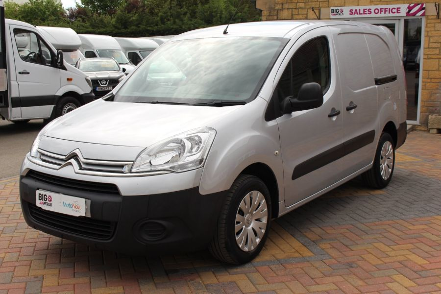 CITROEN BERLINGO 725 HDI 90 X L2 H1 5 SEAT CREW VAN SWB LOW ROOF - 9173 - 9