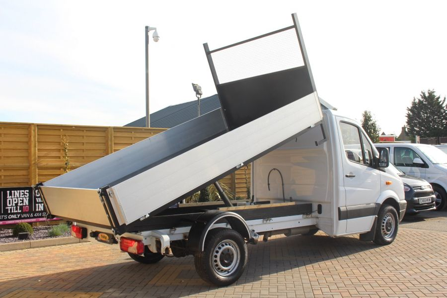 MERCEDES SPRINTER 313 CDI MWB SINGLE CAB ALLOY TIPPER - 6105 - 3