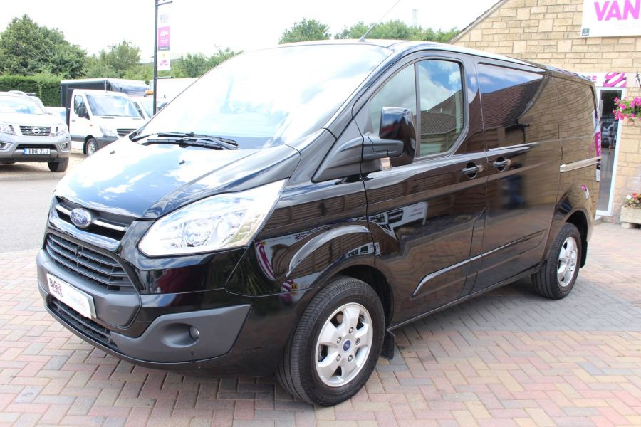 FORD TRANSIT CUSTOM 290 TDCI 125 L1 H1 LIMITED SWB LOW ROOF - 8045 - 6