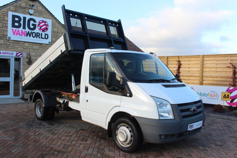 FORD TRANSIT 350 TDCI 100 MWB 'ONE STOP' ALLOY TIPPER DRW RWD - 6726 - 3