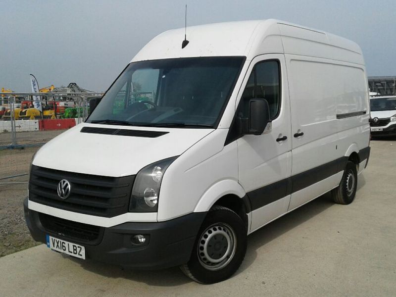 VOLKSWAGEN CRAFTER CR35 TDI 163 MWB HIGH ROOF - 9377 - 1