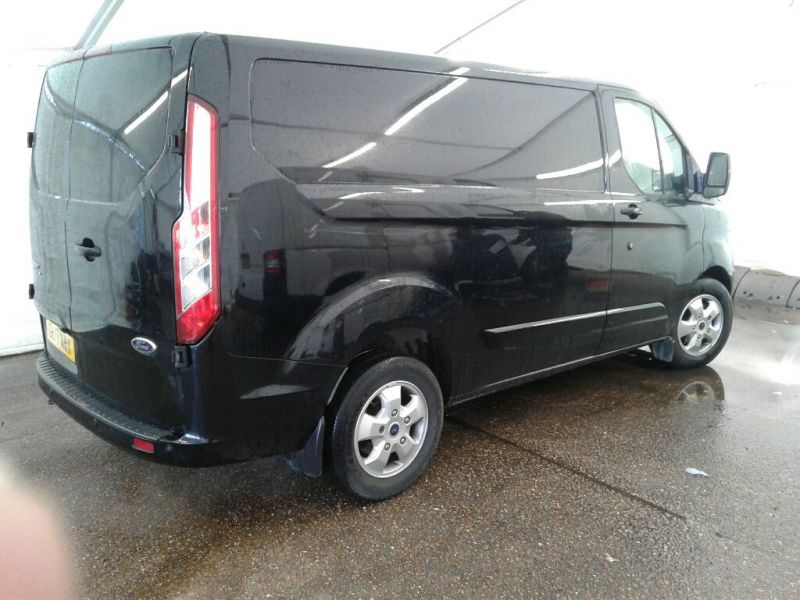 FORD TRANSIT CUSTOM 270 TDCI 130 L1 H1 LIMITED SWB LOW ROOF FWD - 9460 - 2
